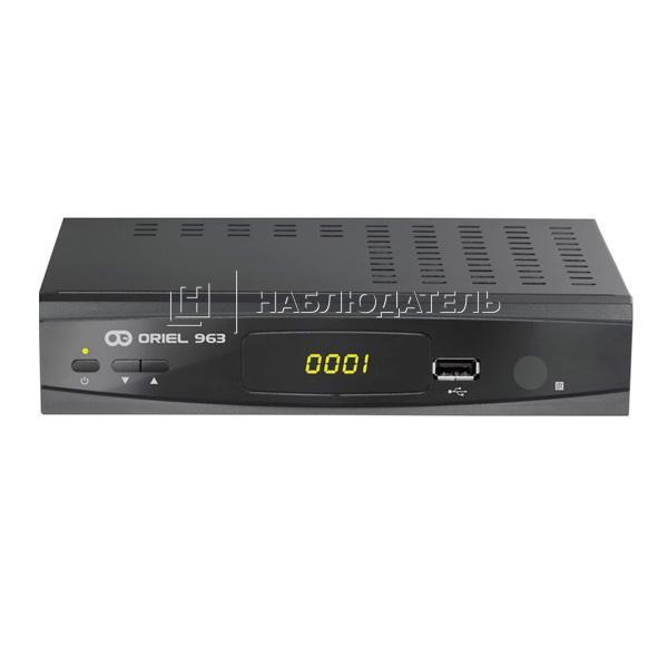 Спутниковое оборудование DVB-T2 приемники Oriel, Oriel 963 Металлический корпус
