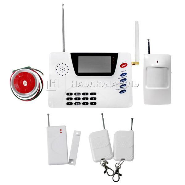 Охранные системы Охранная GSM сигнализация SpezVision, H-15 GSM