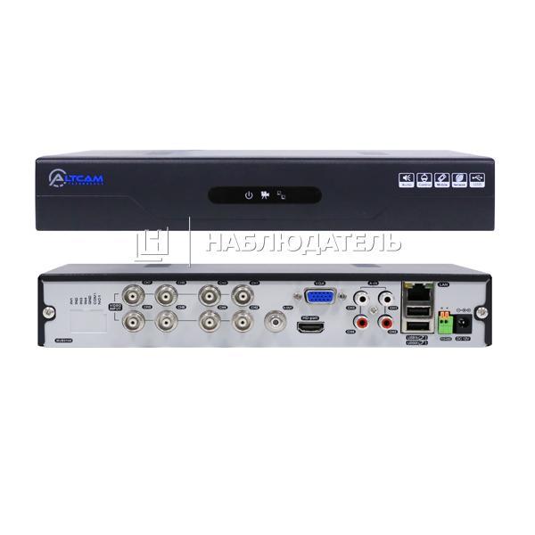 Видеорегистратор 8-канальные AltCam, DVR812 (1080N)
