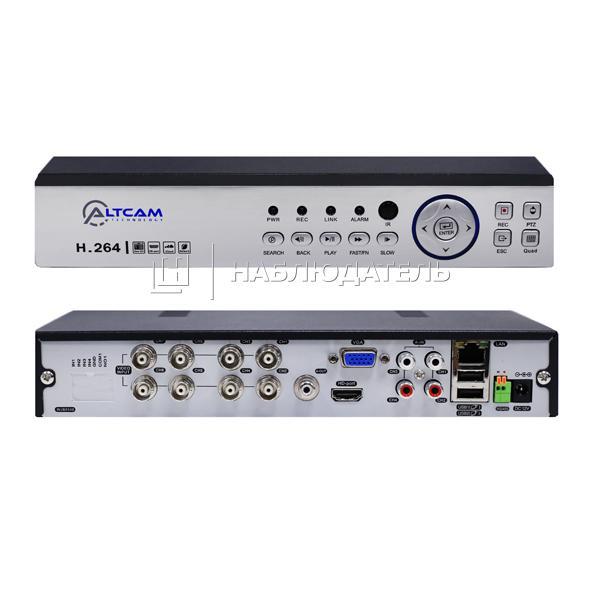 Видеорегистратор 8-канальные AltCam, DVR822 (1080P)