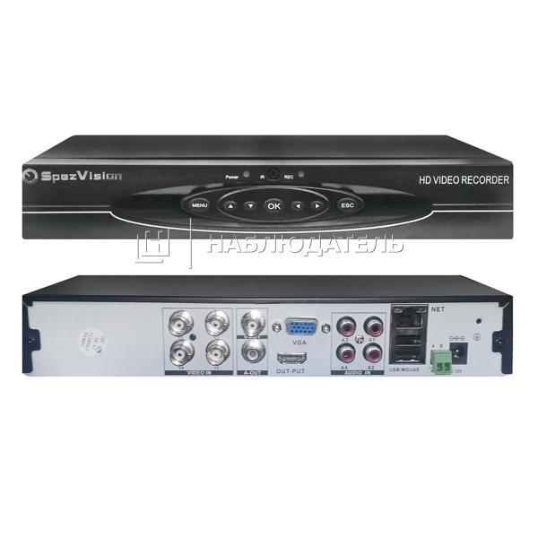 Видеорегистратор 4-канальные SpezVision, HQ-9904L (1080P)