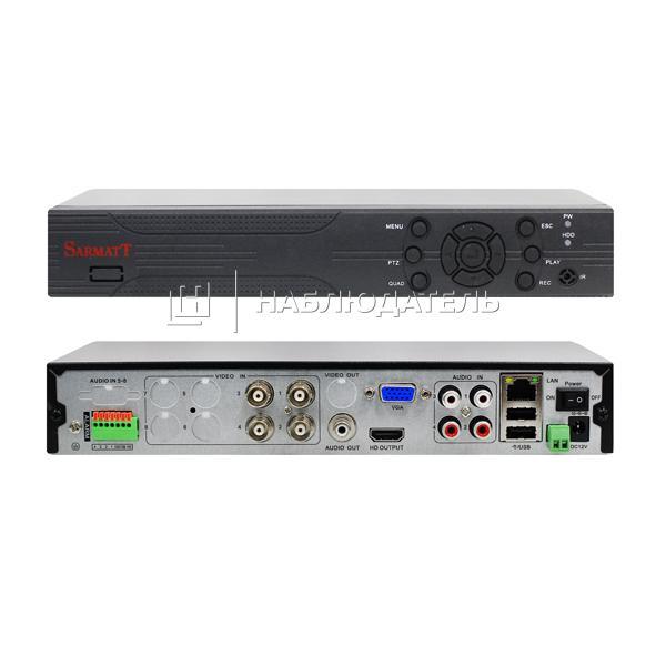 Видеорегистратор 4-канальные Sarmatt, DSR-423-Real