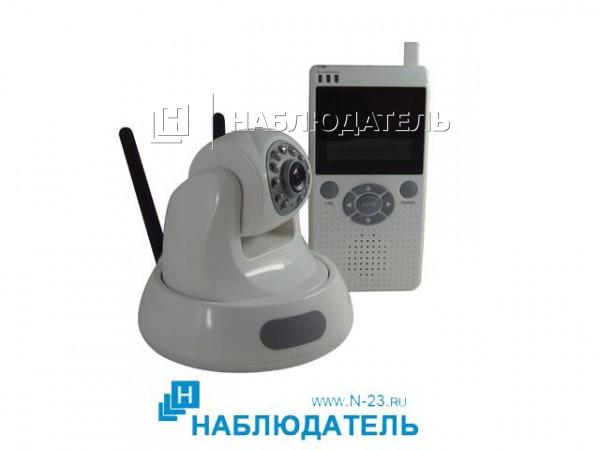 Миниатюрная ip камера видеонаблюдения с датчиком движения