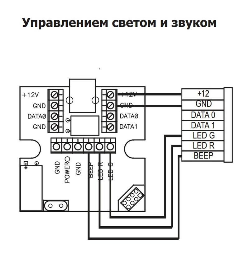 Программирование через колодку